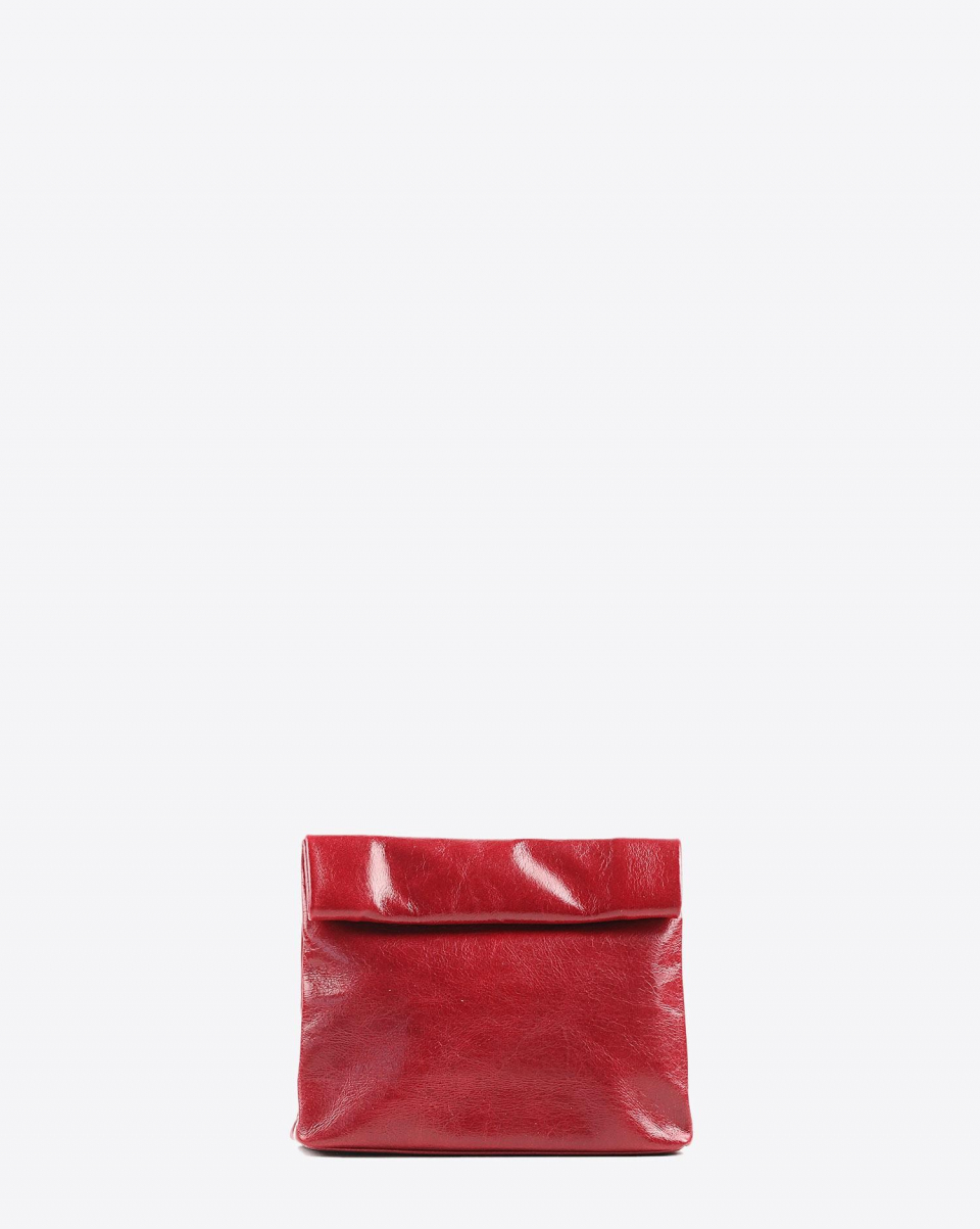Marie Turnor Snak Clutch - Red