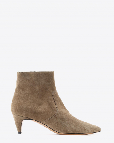Isabel Marant Chaussures Boots DERST -  Suede Taupe