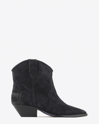 Isabel Marant Chaussures Boots Dewina - Faded Black H20