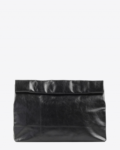 Marie Turnor Lunch Clutch - Black