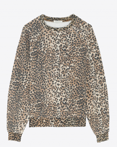 Ragdoll LA Oversized Sweatshirt - Brown Leopard