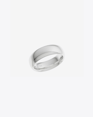 Tom Wood Bague Chubby Band - Silver