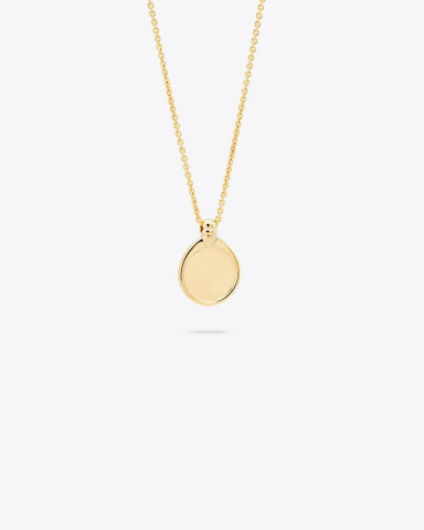 Tom Wood Tommy Pendant - Gold