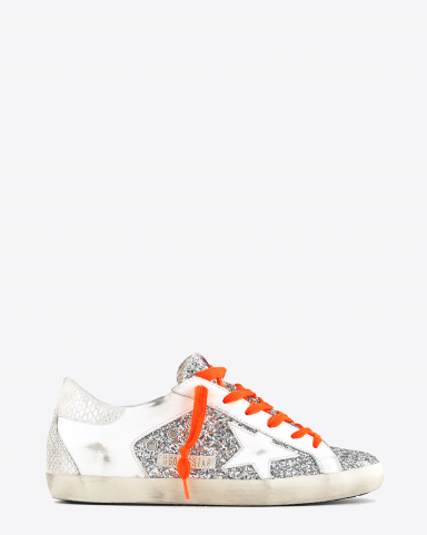 Golden Goose Woman Collection Sneakers Super-Star - Silver Ice 70148