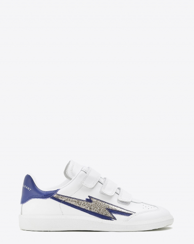 Isabel Marant Chaussures Sneakers Beth - Silver