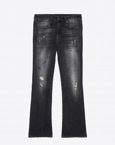 R13 Denim Pré-Collection Kick Fit - Strummer Black