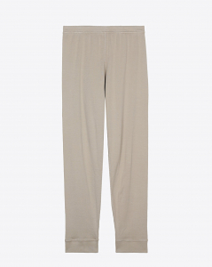 Raquel Allegra Long John Pants - Taupe