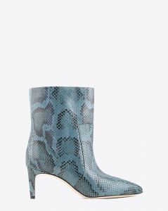 Paris Texas Pré-Collection Boots effet Serpent - Grigio Azzurro