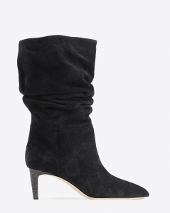 Paris Texas Pré-Collection Bottes Slouchy en Daim - Nero