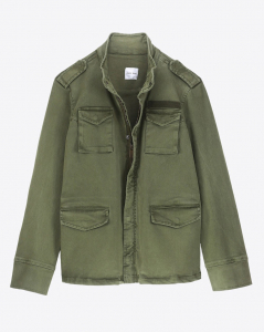 Anine Bing Permanent Army Jacket - Green