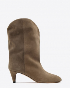 Isabel Marant Chaussures Bottes Dernee - Taupe