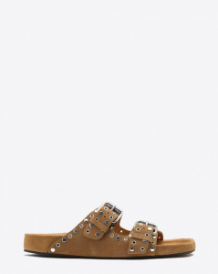 Isabel Marant Chaussures Sandales Lennyo - Brown