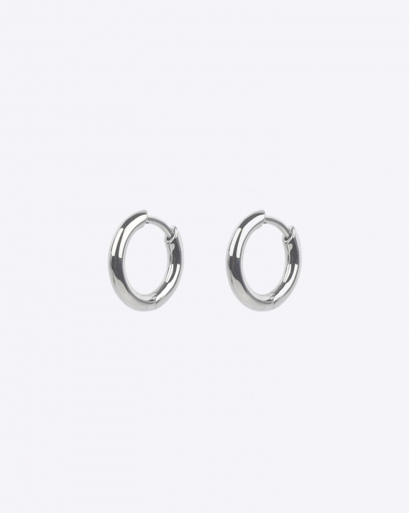 Tom Wood Classic Hoop Small - Silver