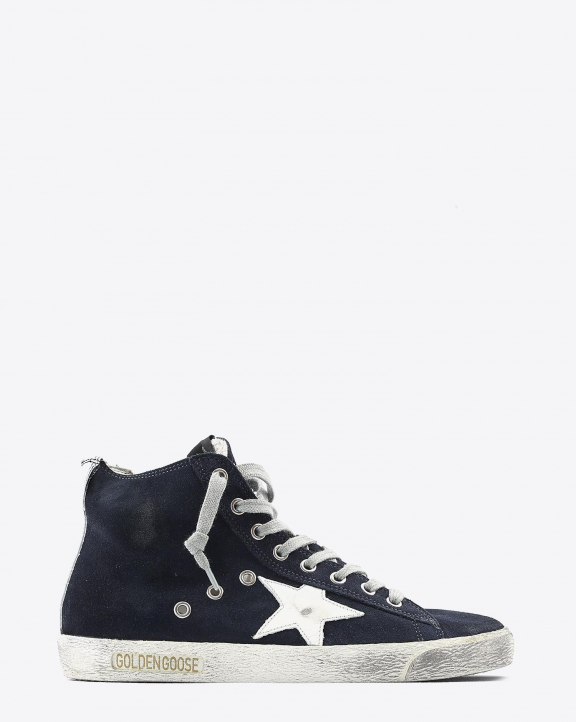 Golden Goose Woman Collection Francy Classic - Night Blue White 50517