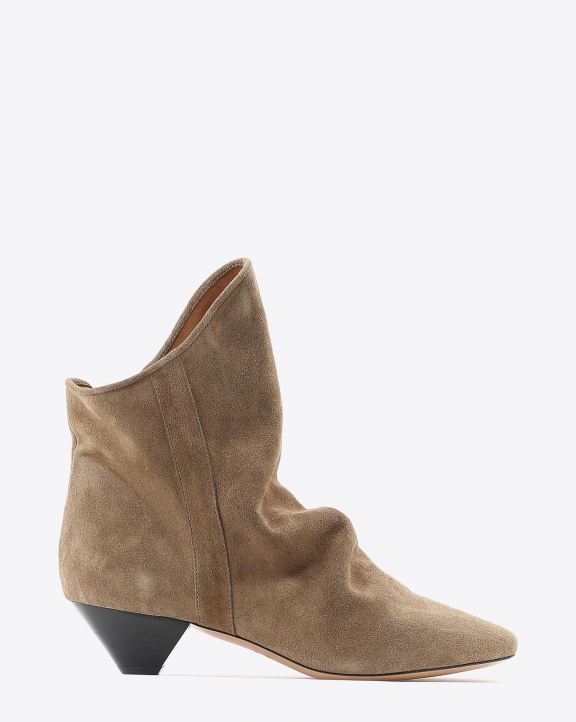 Isabel Marant Chaussures Boots DOEY - Suede Taupe