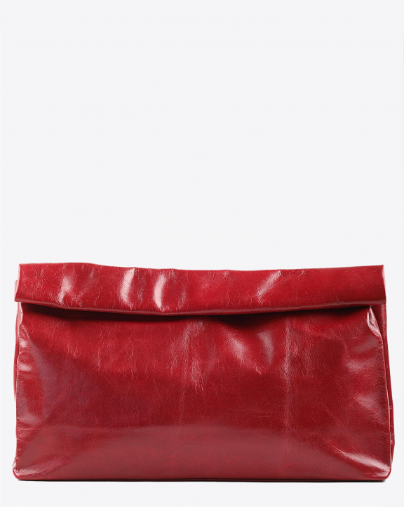 Marie Turnor Dinner Clutch - Red