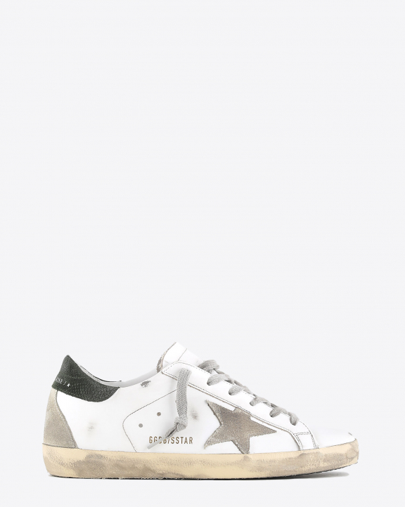 Golden Goose Woman Collection Super-Star - White Military 10731