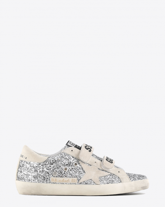 Golden Goose Woman Collection Old School - Silver Pearl 70188