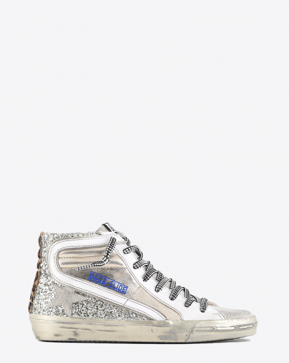 Golden Goose Woman Collection Sneakers Slide - Gold Ice Leo 65147