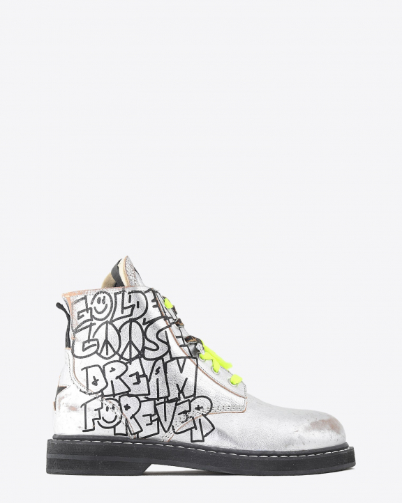 Golden Goose Woman Chaussures Collection Ele Dream Forever Signature - Silver Black 60246