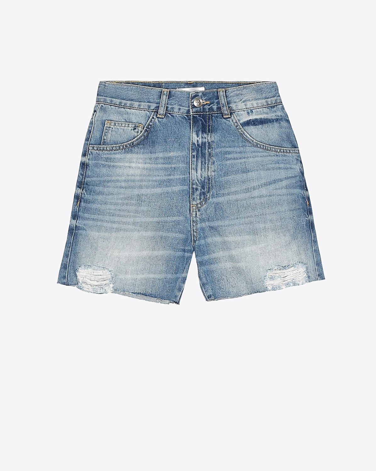 Anine Bing Casey Denim Shorts