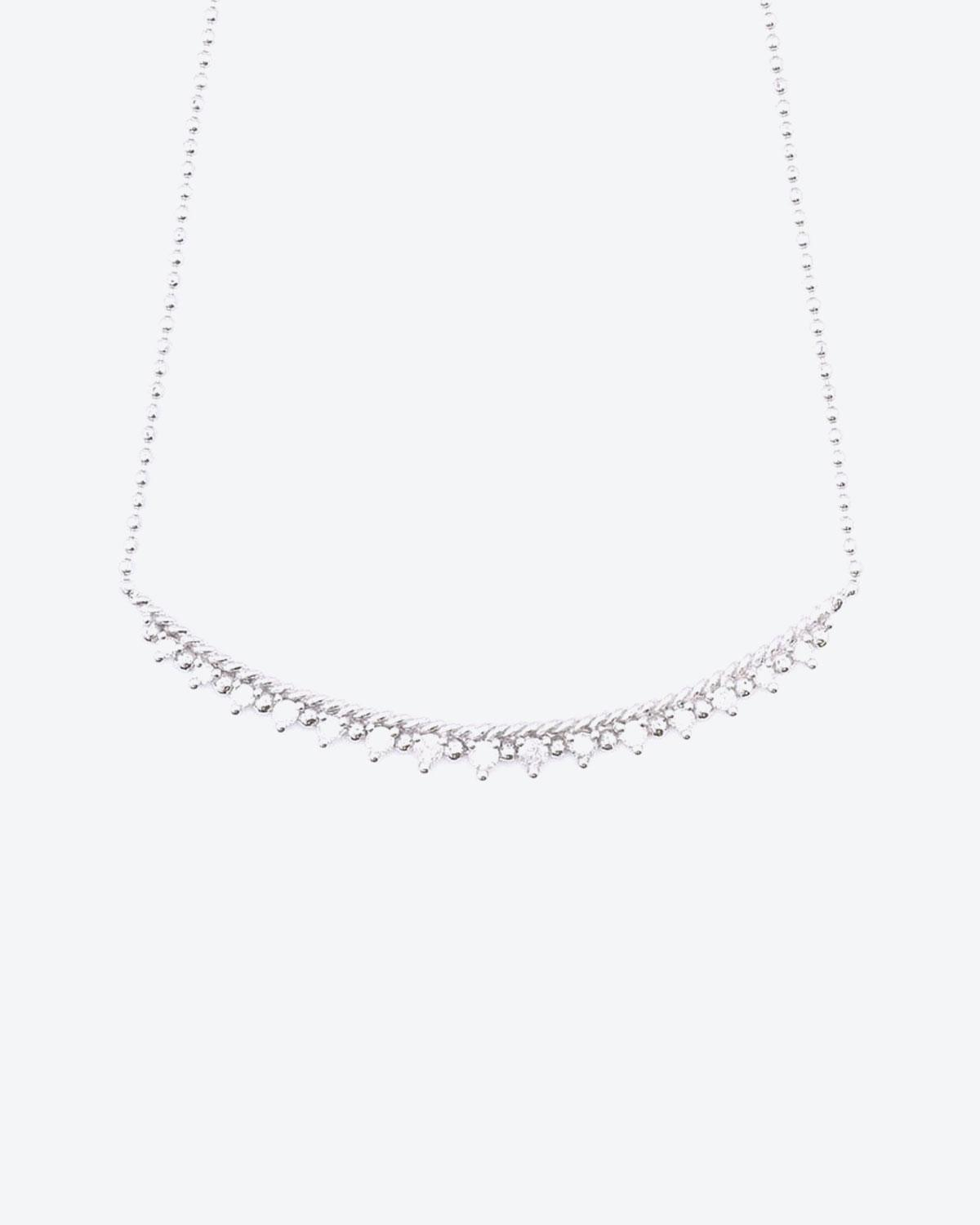 De Jaegher Collier Mrs Darling Argent & Diamants