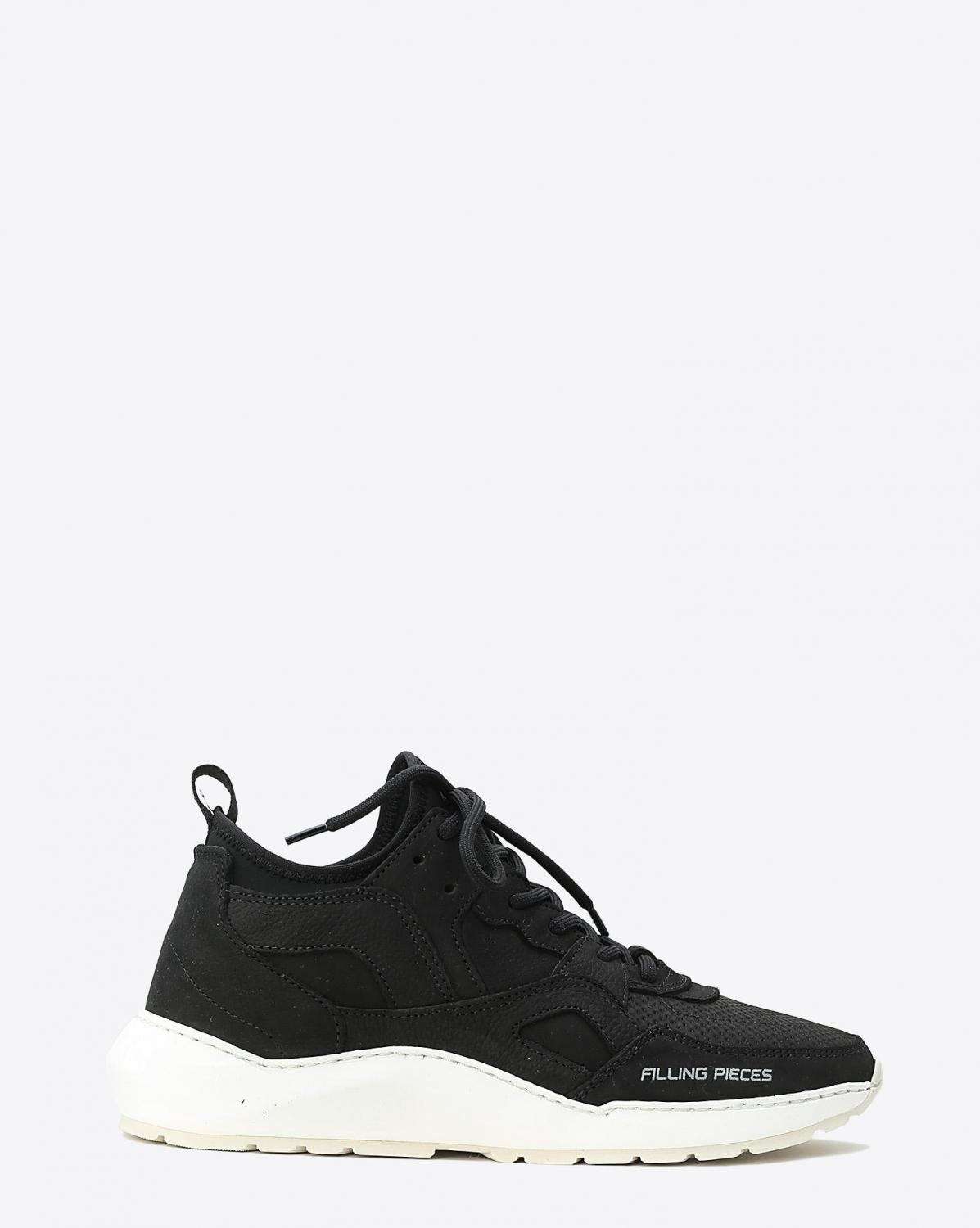 Filling Pieces Sneakers Fence Origin Low Arch Runner Fence All Black Black