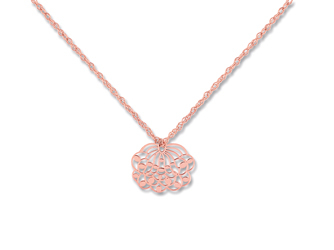 Ginette NY Mini lotus on chain