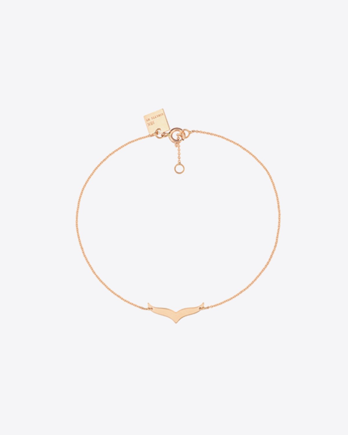 Ginette NY Wise Bracelet - Or Rose 18K