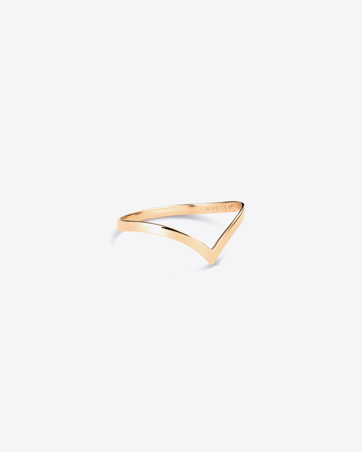 Ginette NY Wise Ring - Or Rose 18K