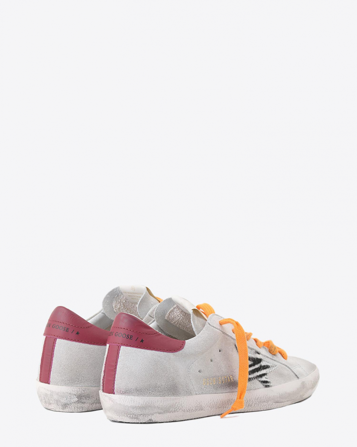 Golden Goose Woman Collection Sneakers Superstar - Ice Suede - Pony Ziger Star