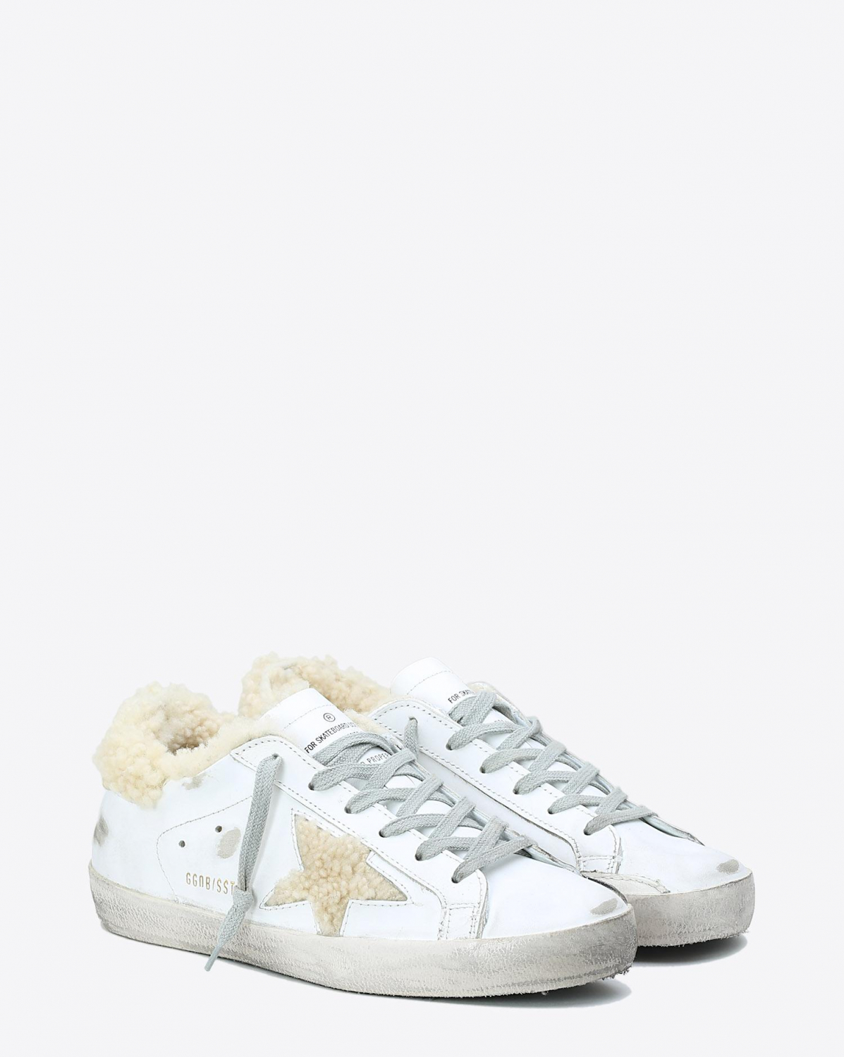 Golden Goose Woman Collection Sneakers Superstar - White Shearling