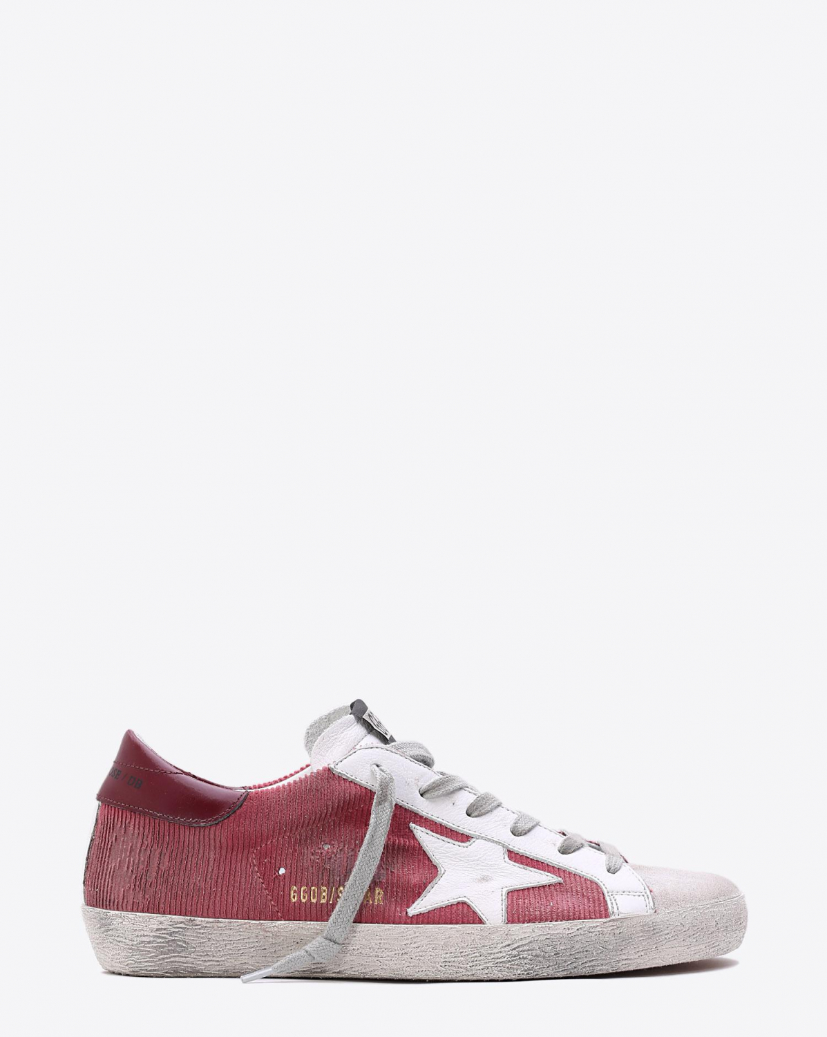 Golden Goose Woman Collection Sneakers Superstar Brick Corduroy  White Star