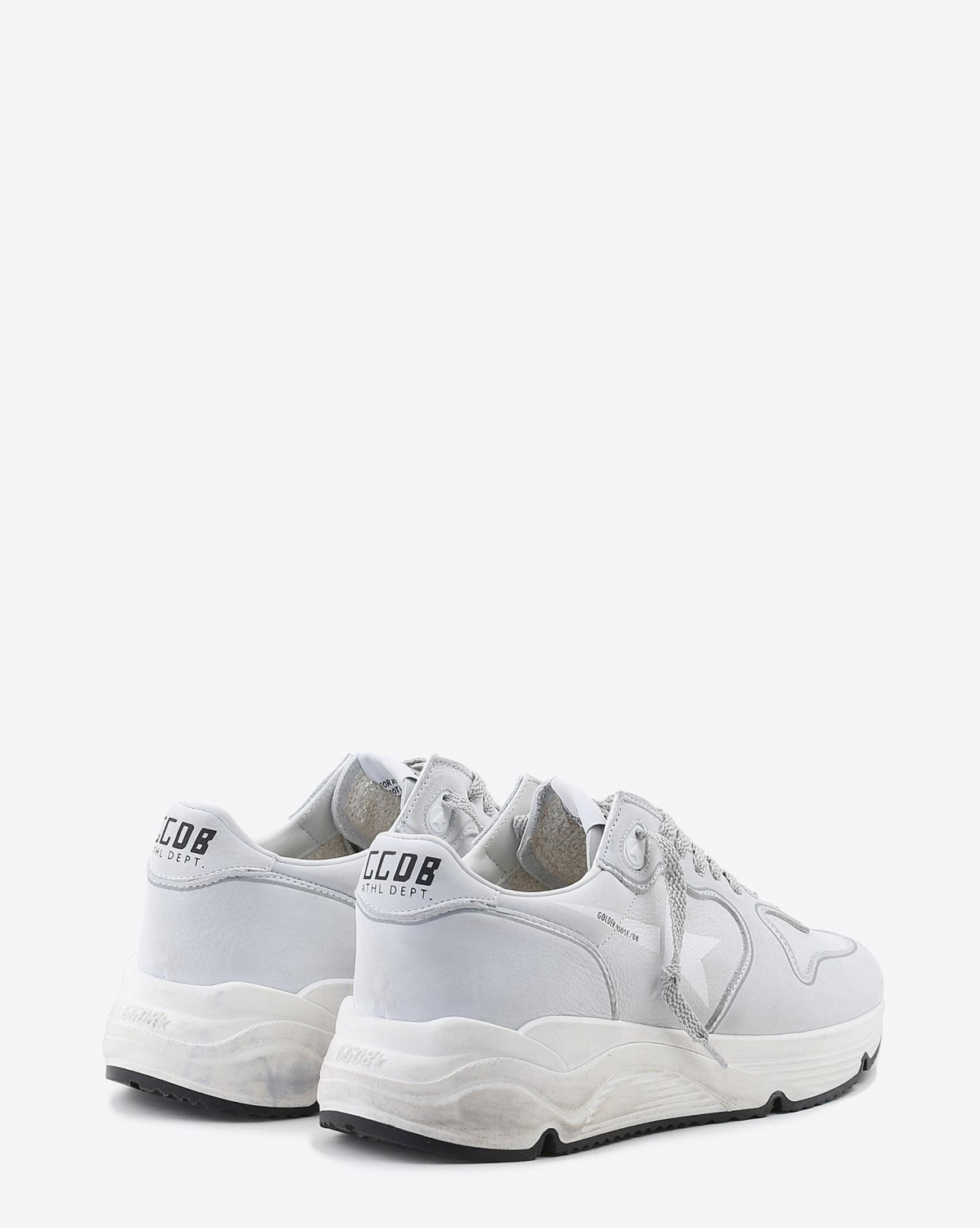 Golden Goose Woman Pré-Collection Sneakers Running Sole - White Nabuk