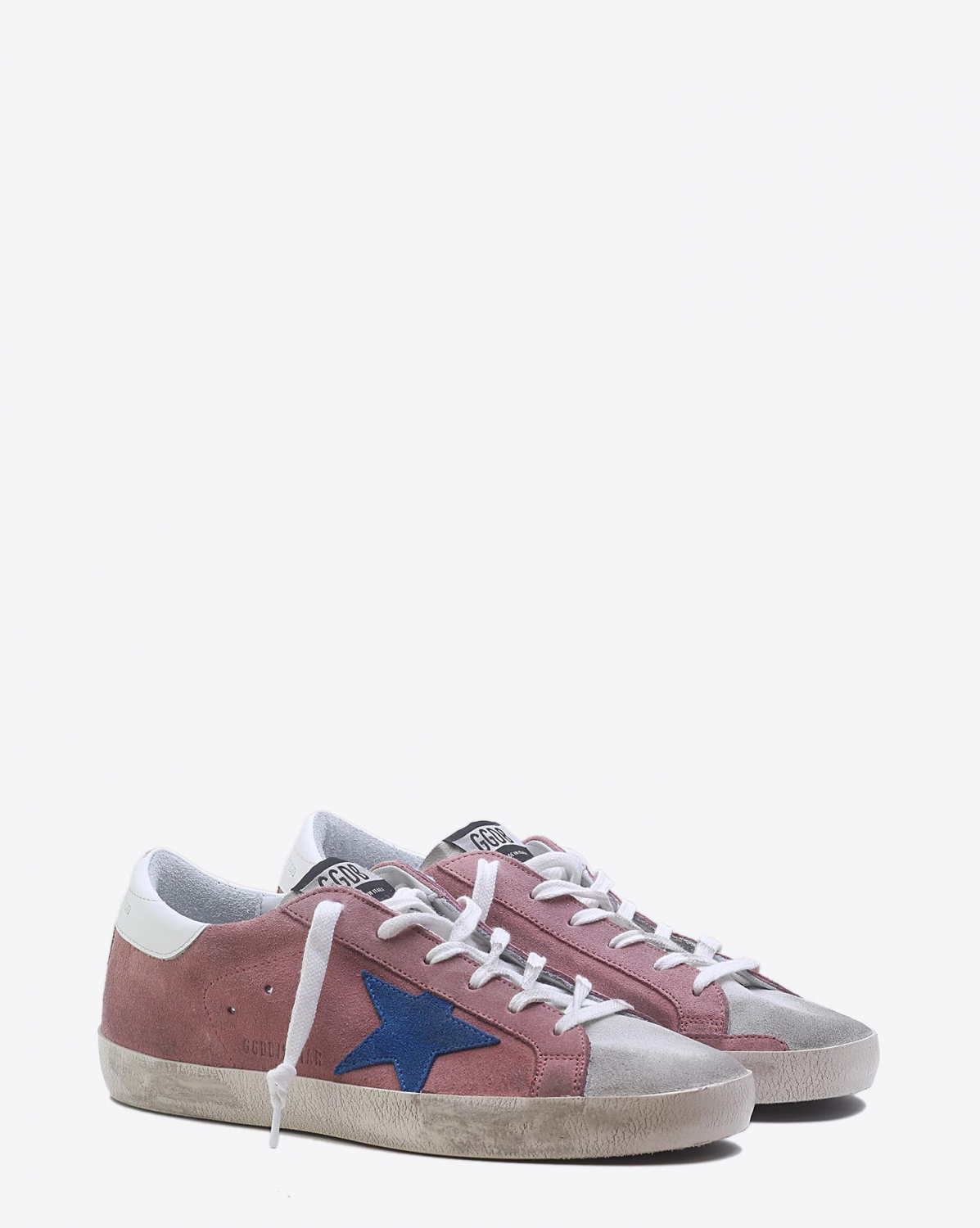 Golden Goose Woman Pré-Collection Sneakers Superstar - Pink White Blue Star