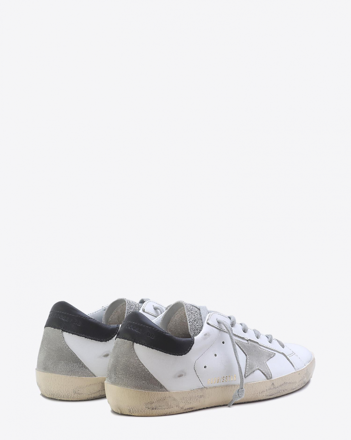 Golden Goose Woman Pré-Collection Sneakers Superstar - White Glitter Crystal
