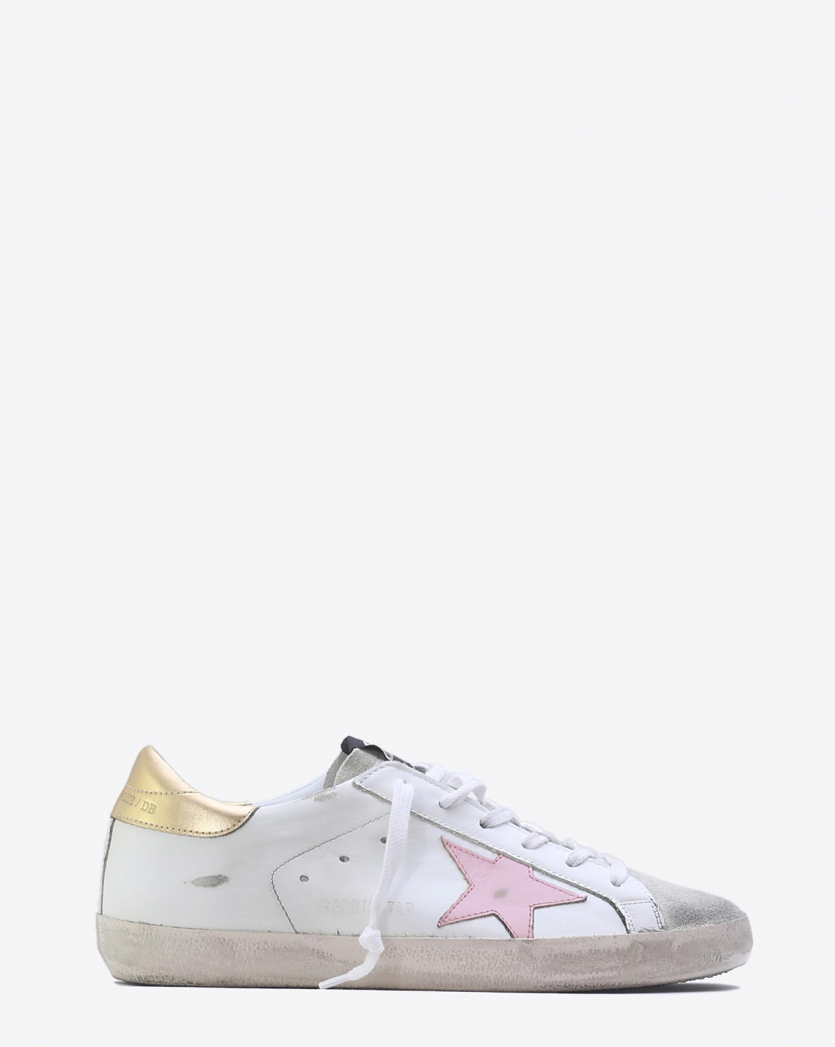 Golden Goose Woman Pré-Collection Sneakers Superstar - White Gold Pink Star