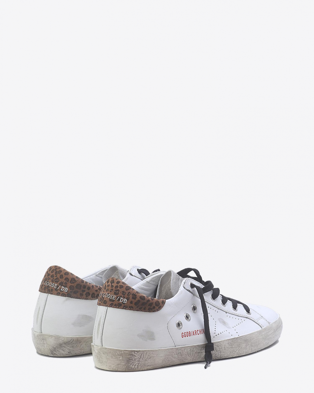 Golden Goose Woman Pré-Collection Sneakers Superstar - White Léopard Skate