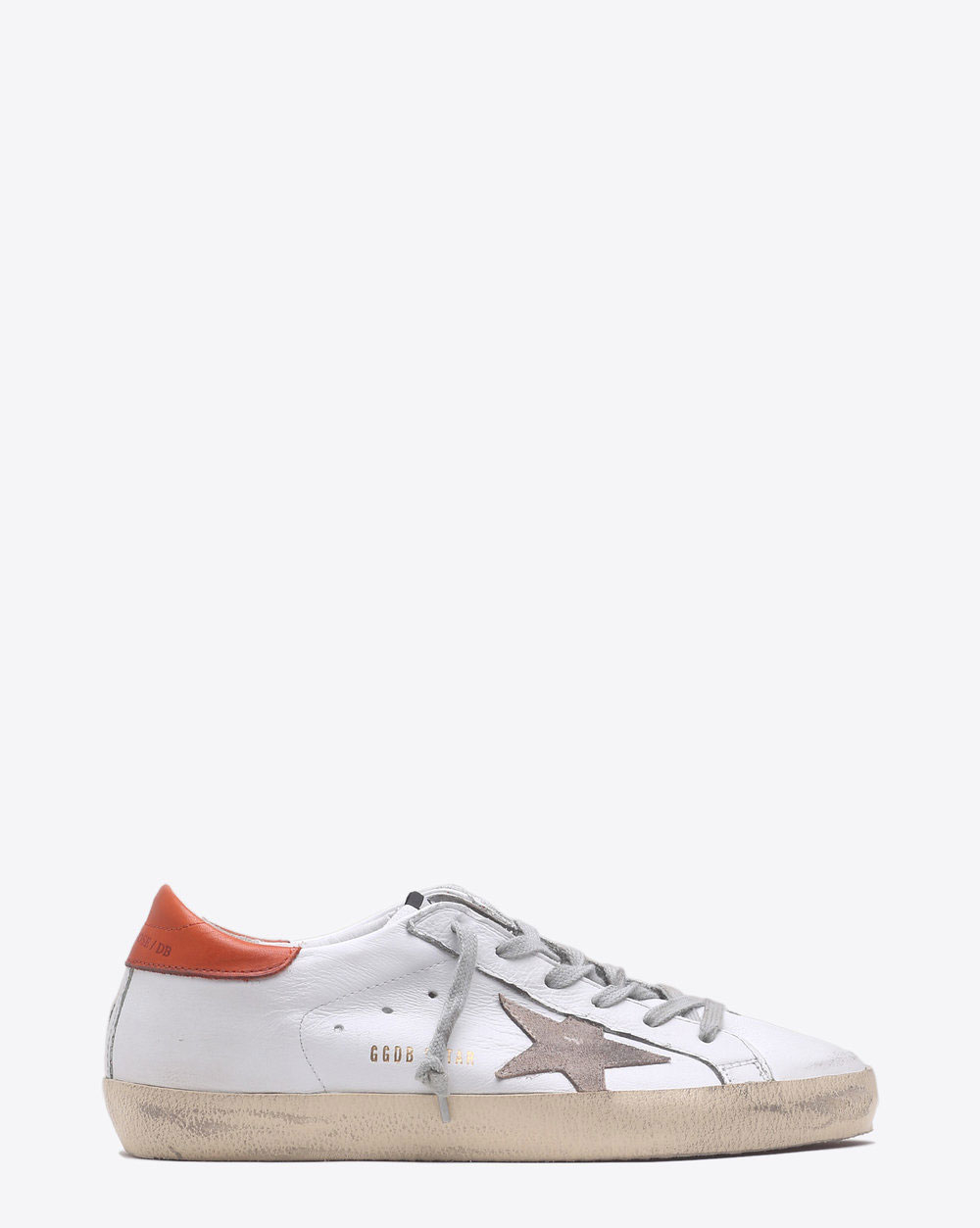 Golden Goose Woman Sneakers Superstar - White Brick Red