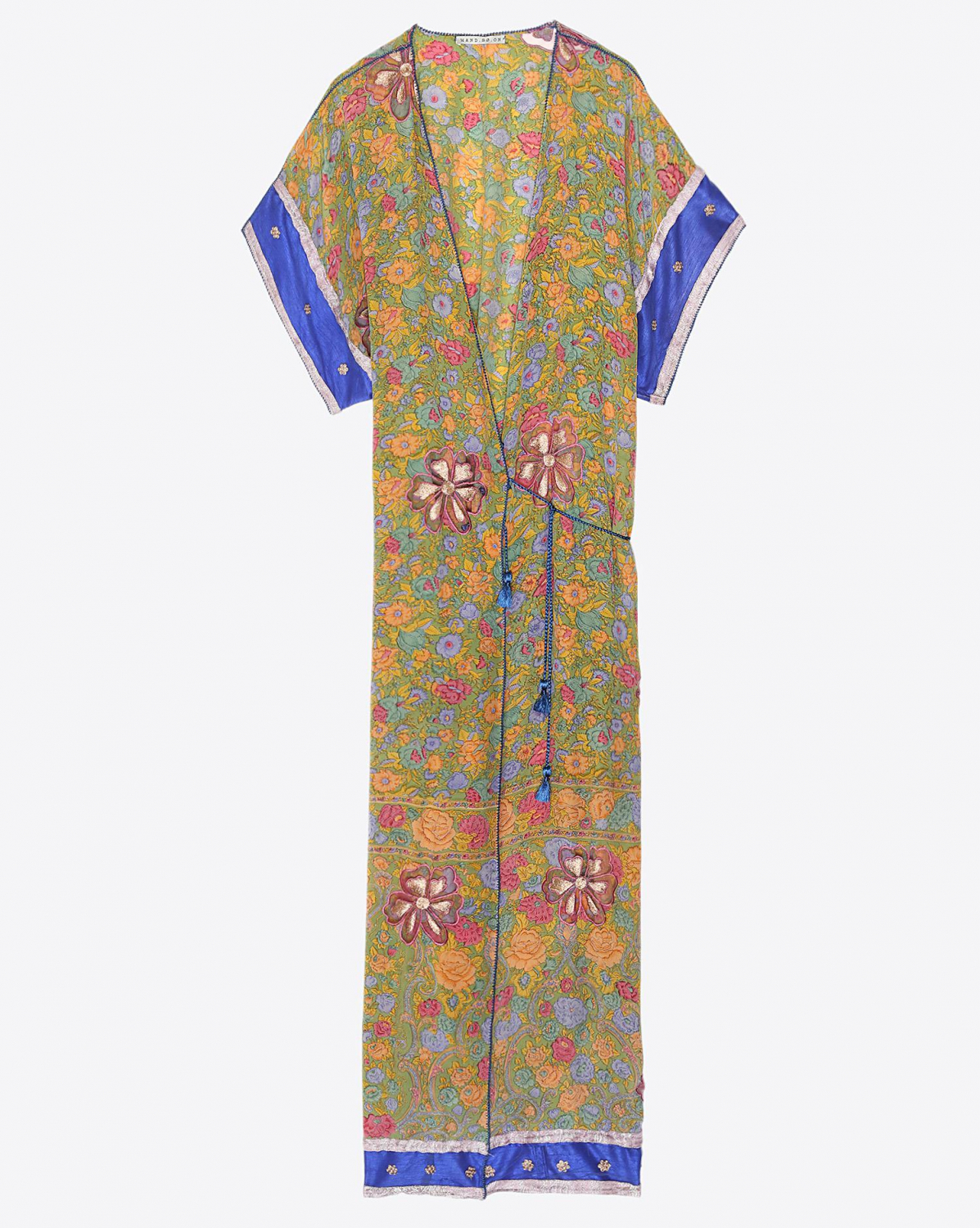 Hand.So.On Kimono Long 677 - Fleurs multico