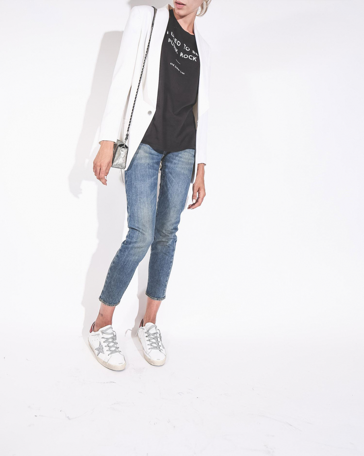 Hironae Smith Blazer - Blanc