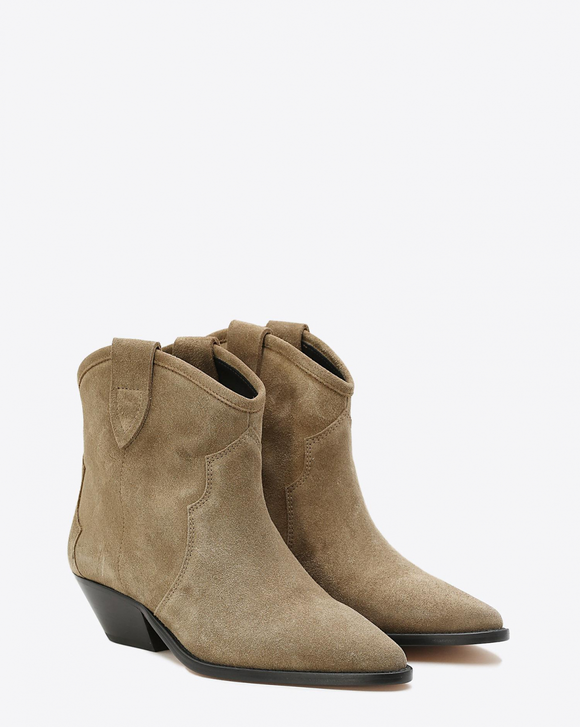 Isabel Marant Chaussures Boots DEWINA - Velvet Taupe