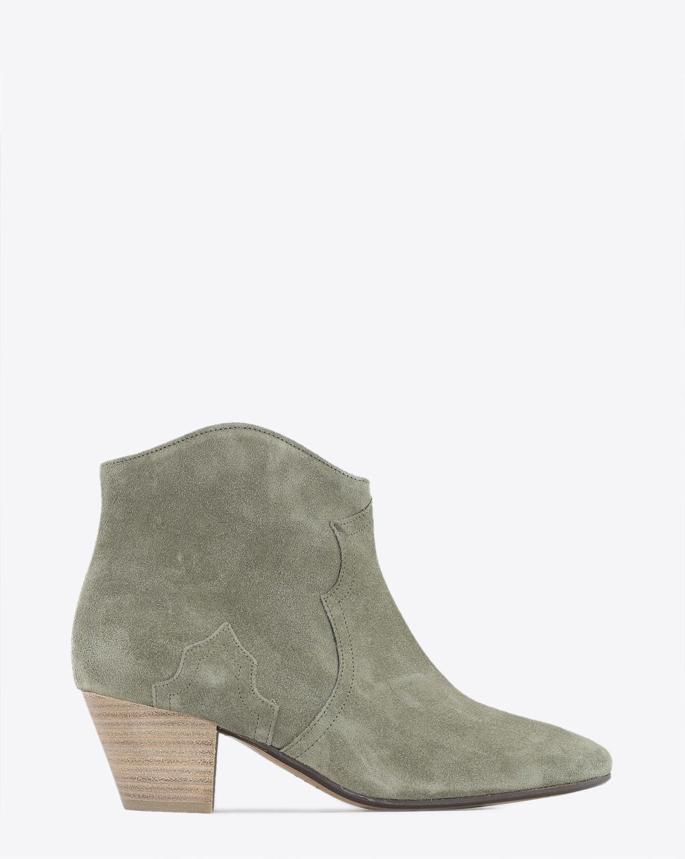 Isabel Marant Chaussures Boots Dicker Taupe
