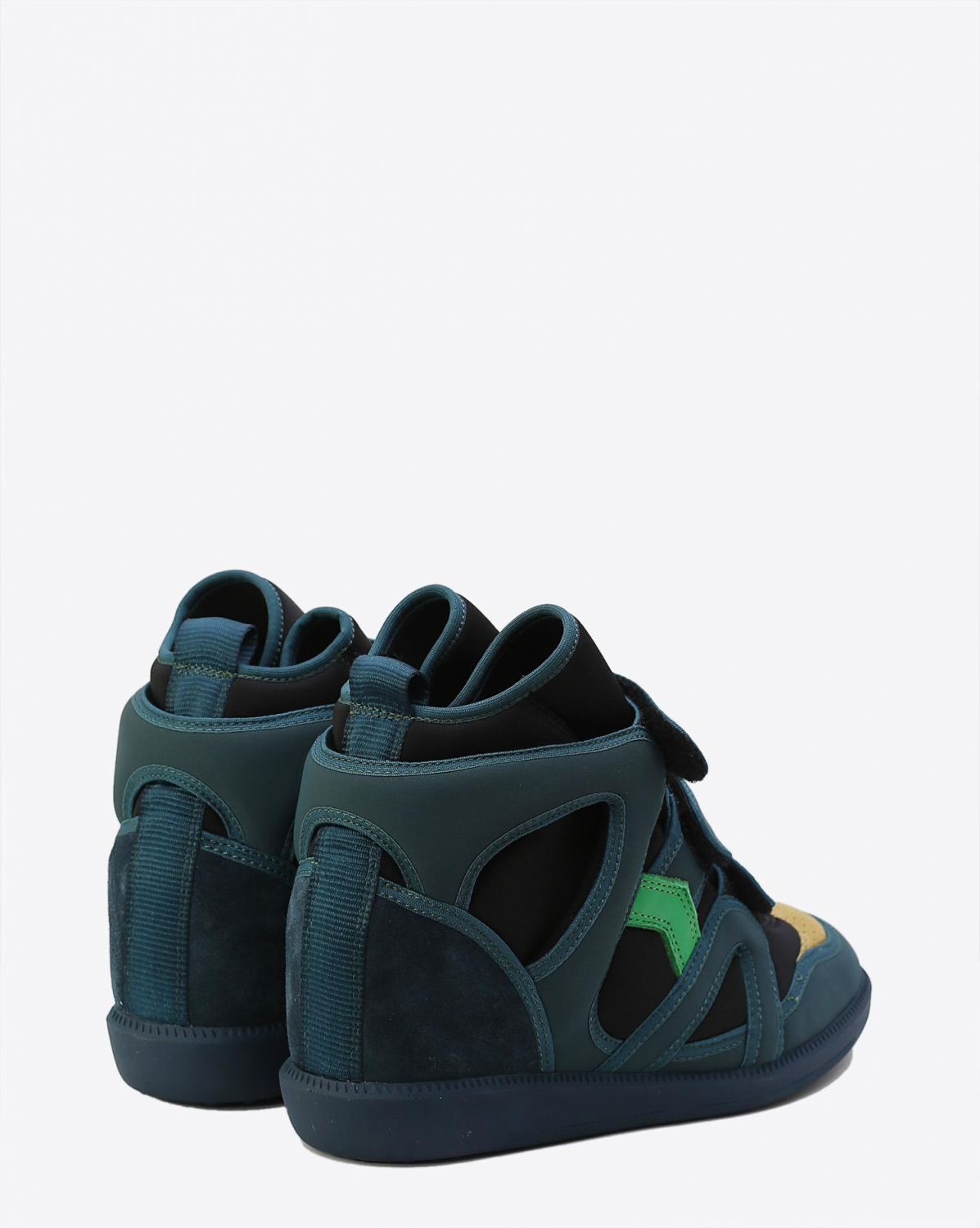Isabel Marant Chaussures Défilé Sneakers BUCKEE - Green