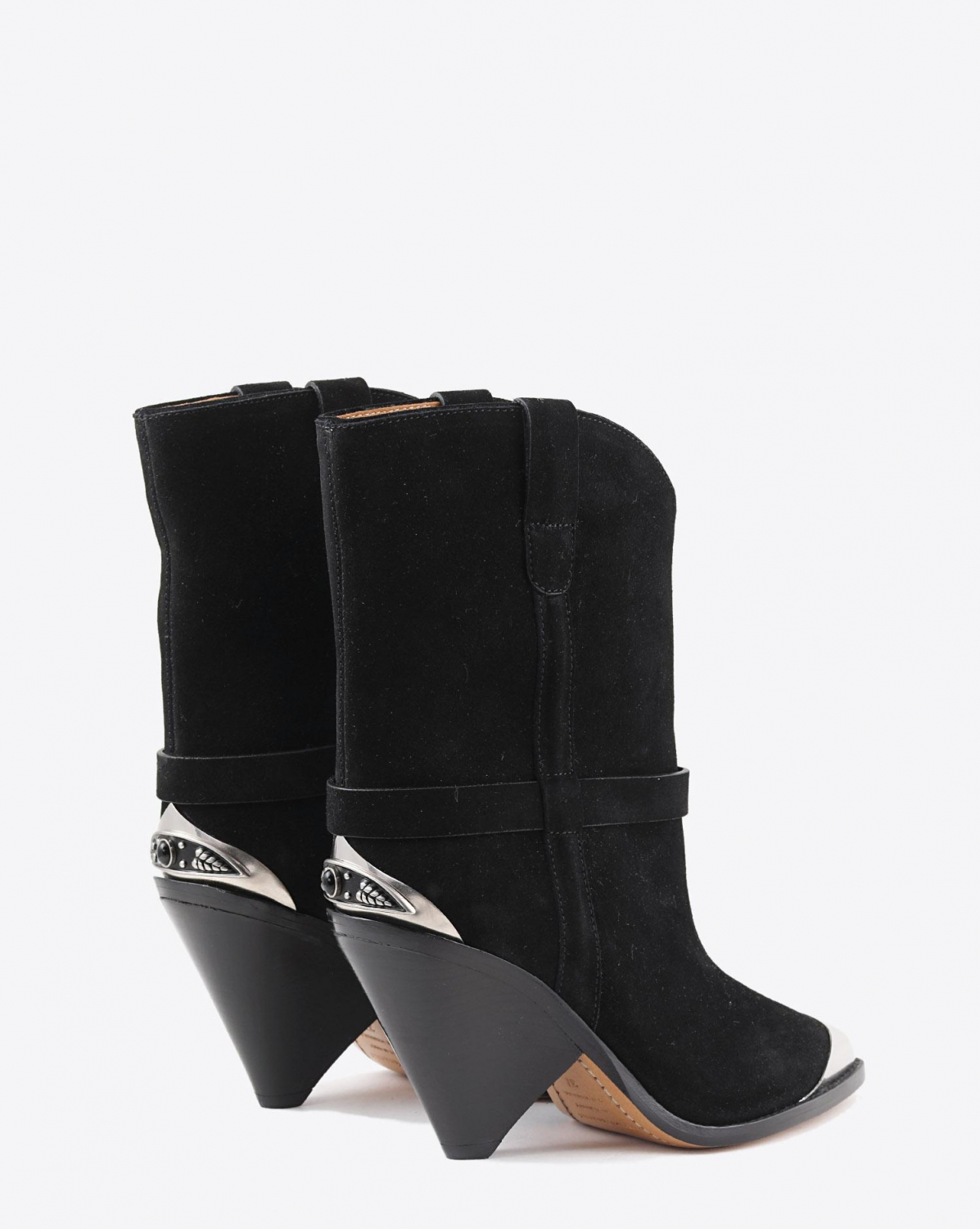 Isabel Marant Etoile Boots LAMSY - Suede Black