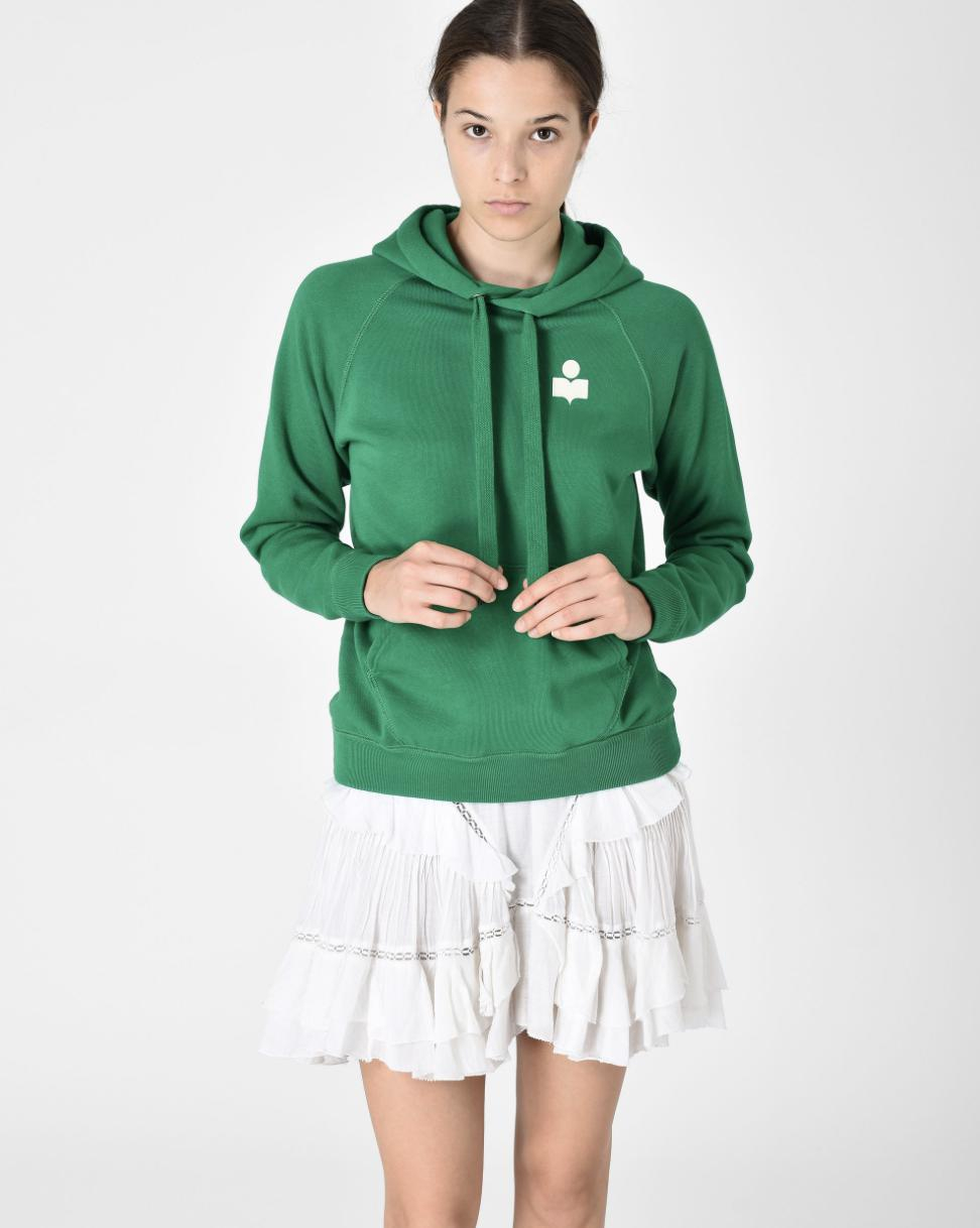 Isabel Marant Etoile Sweat Shirt MALIBU - Green