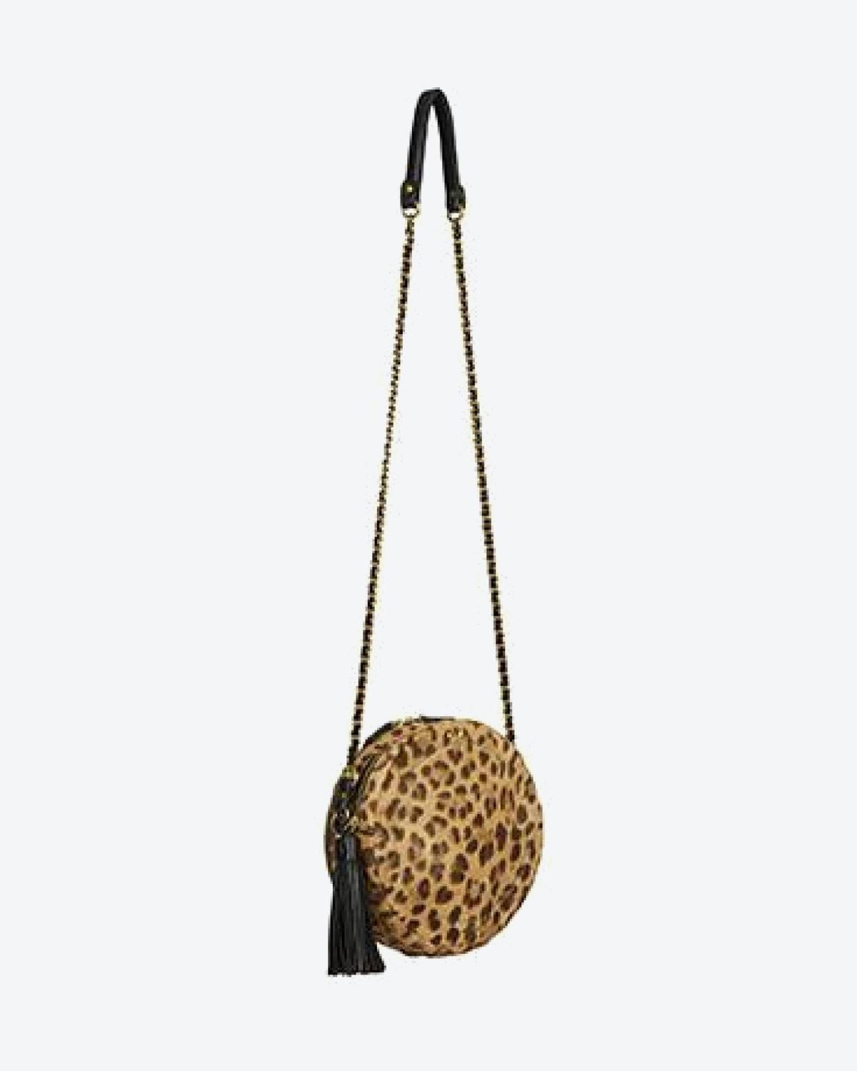 Jérôme Dreyfuss Collection Remi Leopard Pony Calfskin
