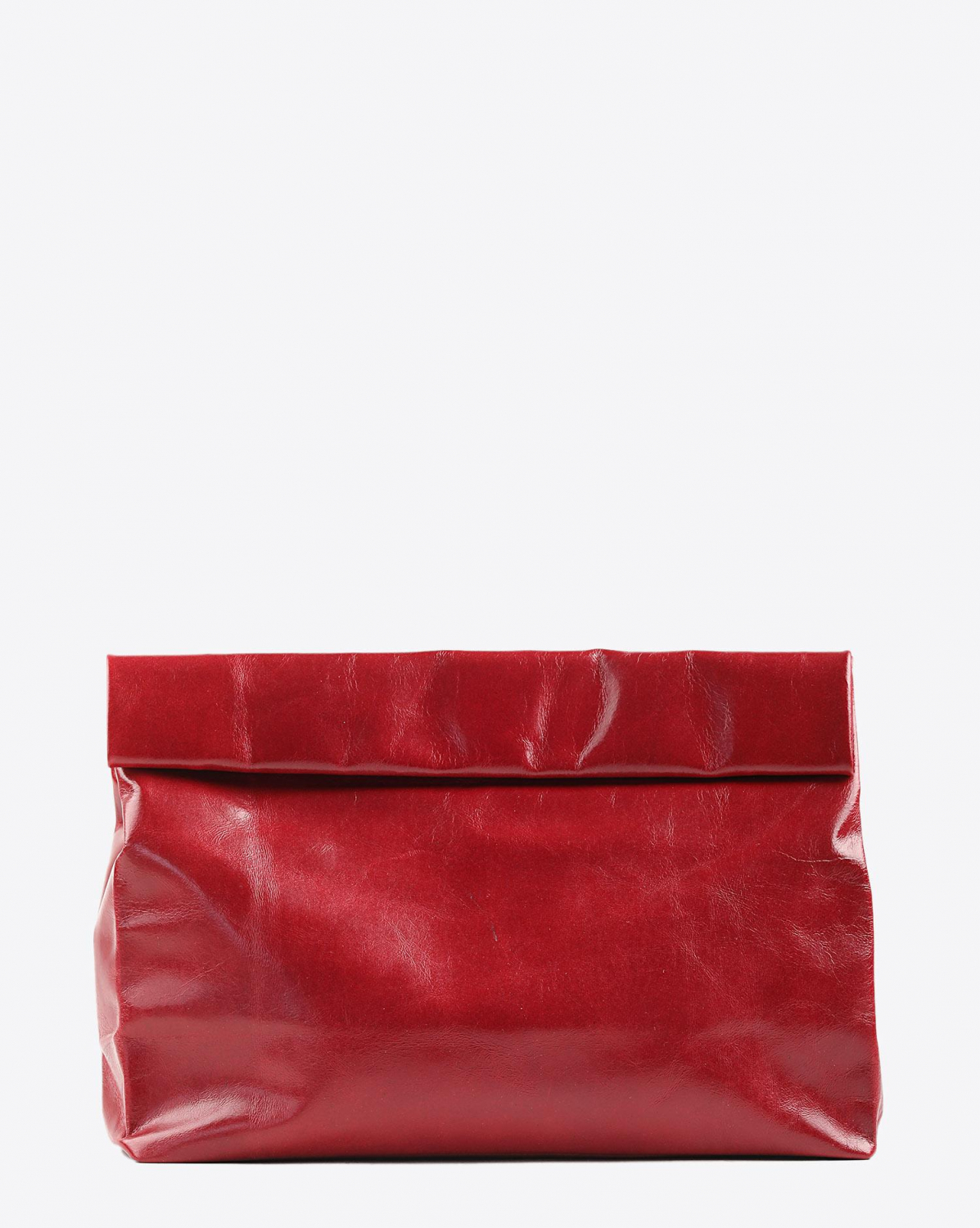 Marie Turnor Lunch Clutch - Red