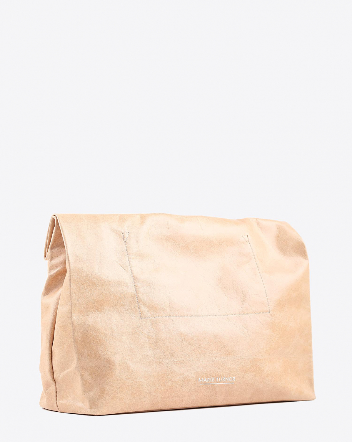Marie Turnor Lunch Clutch - Tan