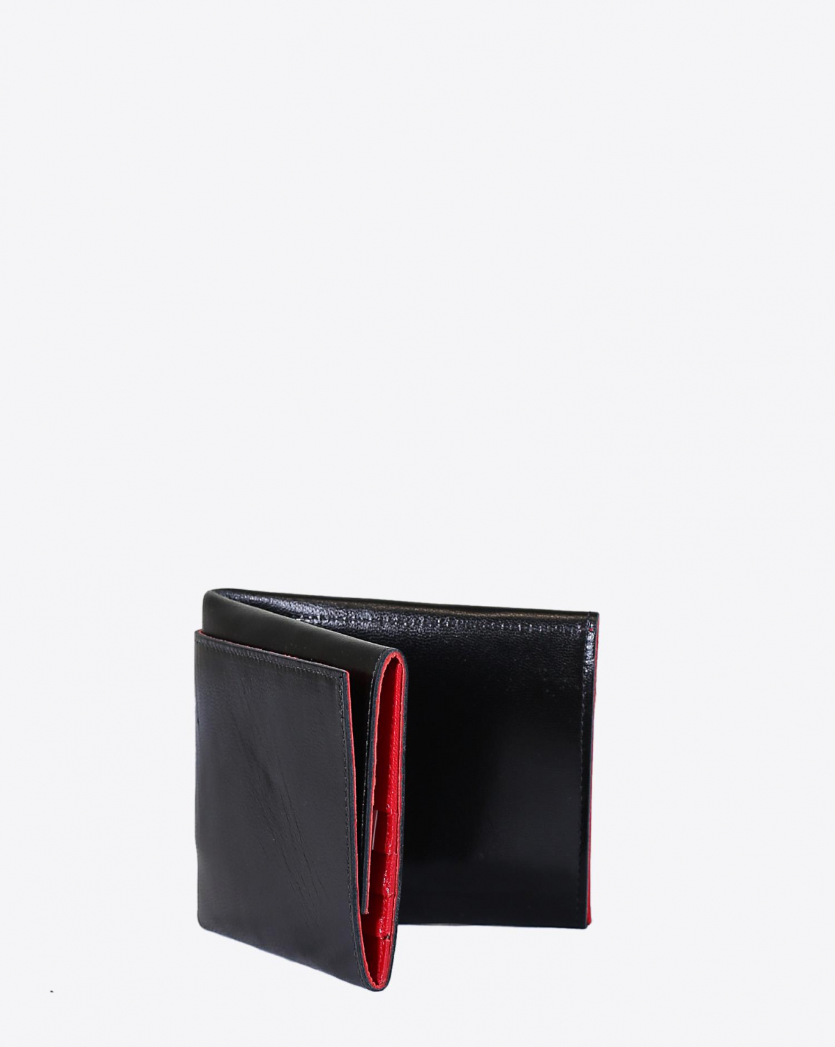 Marie Turnor Origami Wallet - Black Red